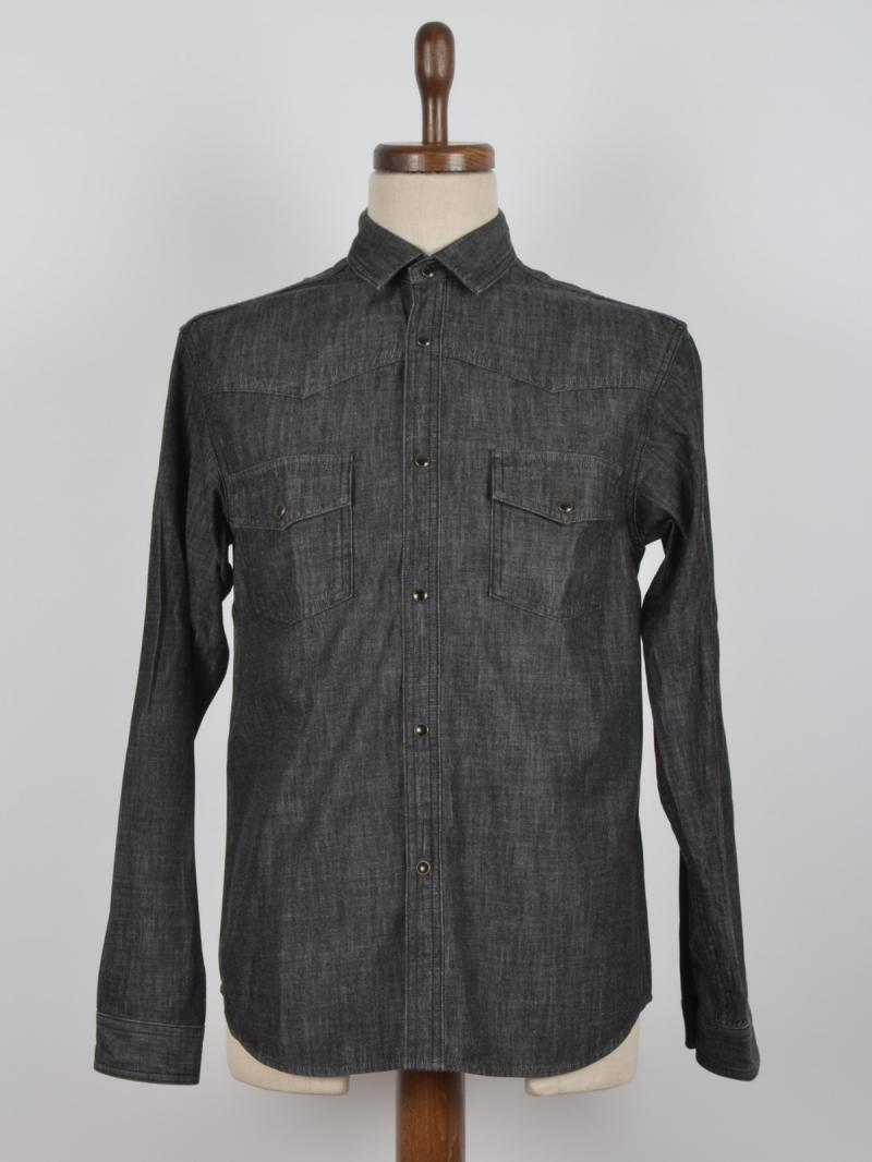 SAINT LAURENT SHIRT DENIM JEANS