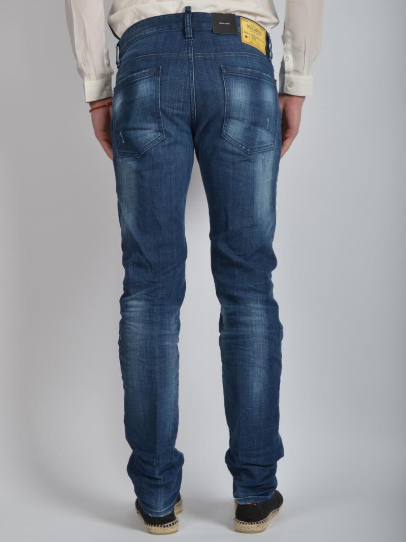 """DSQUARED2  18 Cm  Denim """"Dean"""" Jeans"""