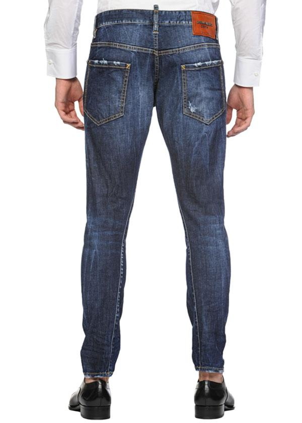 DSQUARED2  JEANS 16CM SEXY TWIST STRECH DENIM JEANS