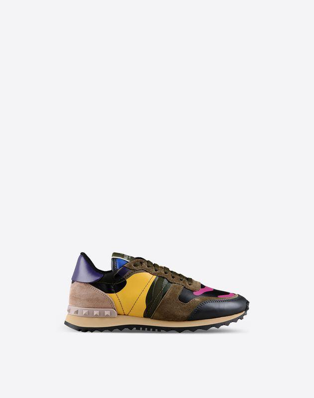 VALENTINO Multi-coloured Camouflage sneaker