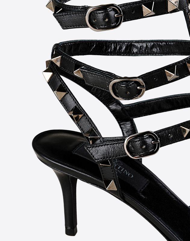 VALENTINO Rockstud Noir ankle strap