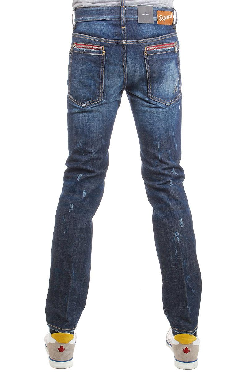 "DSQUARED2  JEANS 18 Cm Stretch Denim ""Dean"" Jean"