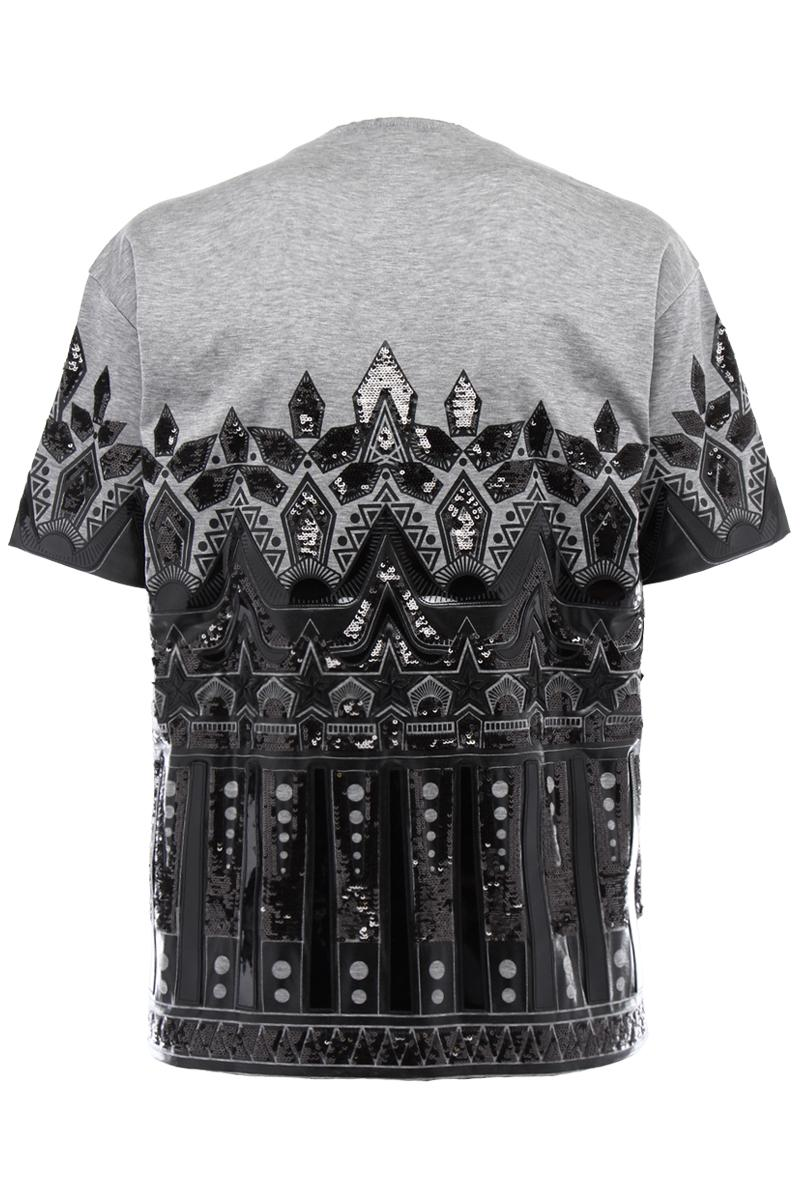 DSQUARED2 t-shirt with print and paillettes