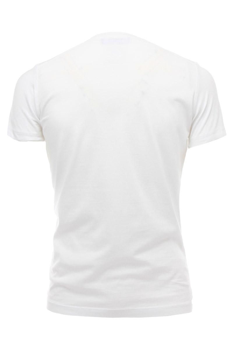 DSQUARED2  T-SHIRT Sexy Slim Fit t-shirt with dsq2 kiss print