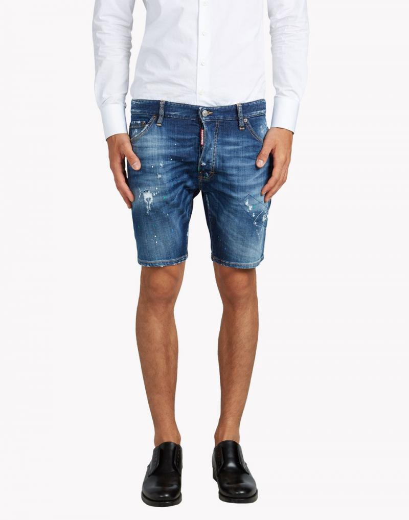 DSQUARED2 SHORTS Long Pencil Shorts