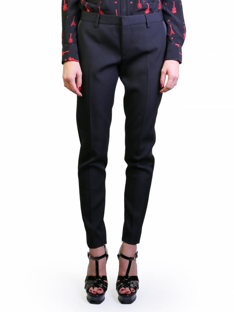 Saint Laurent black trousers