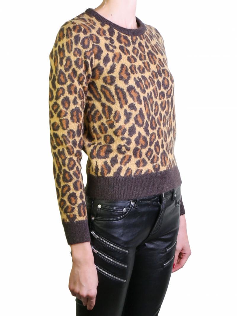 Saint Laurent animalier sweater