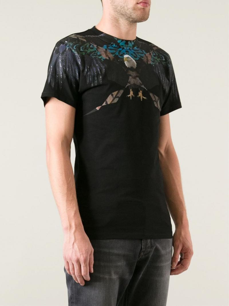 MARCELO BURLON COUNTY OF MILAN  T-SHIRT 'Aguila'