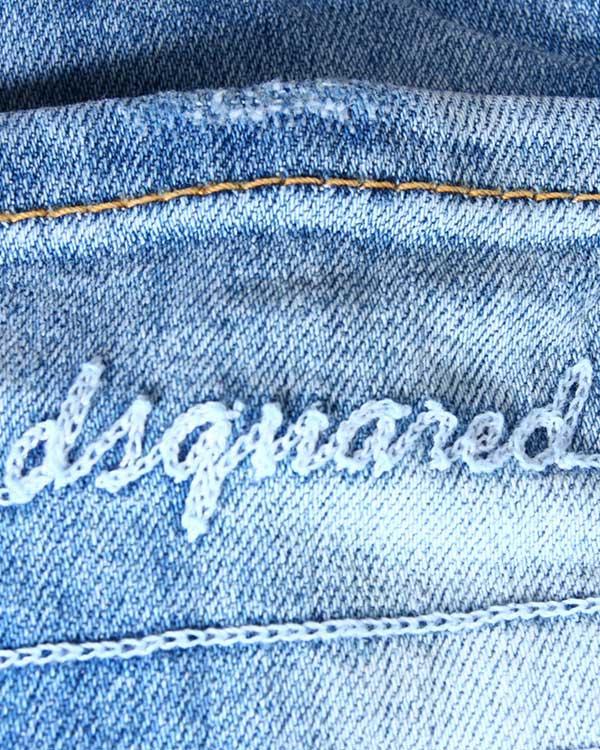 DSQUARED2 medium waist super slim  jean