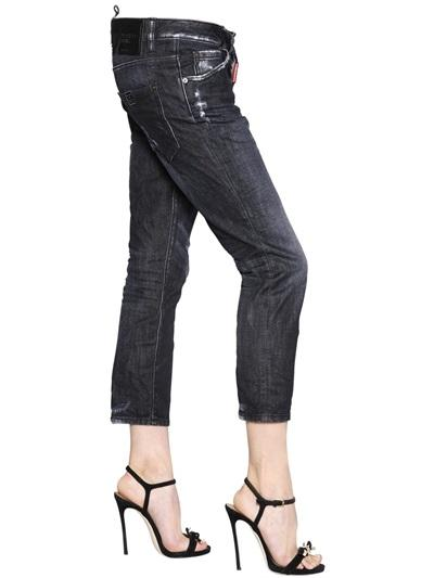 DSQUARED2 JEANS cool girl cropped jean