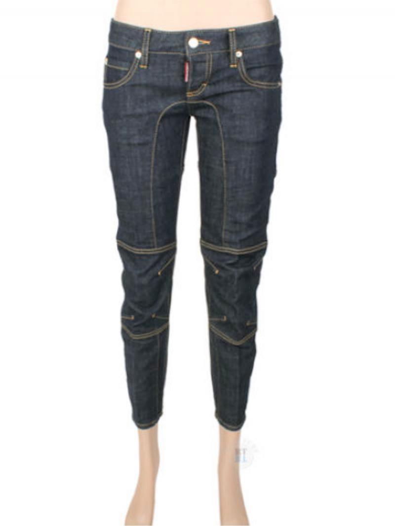 DSQUARED2 BIKER JEAN DENIM JEANS