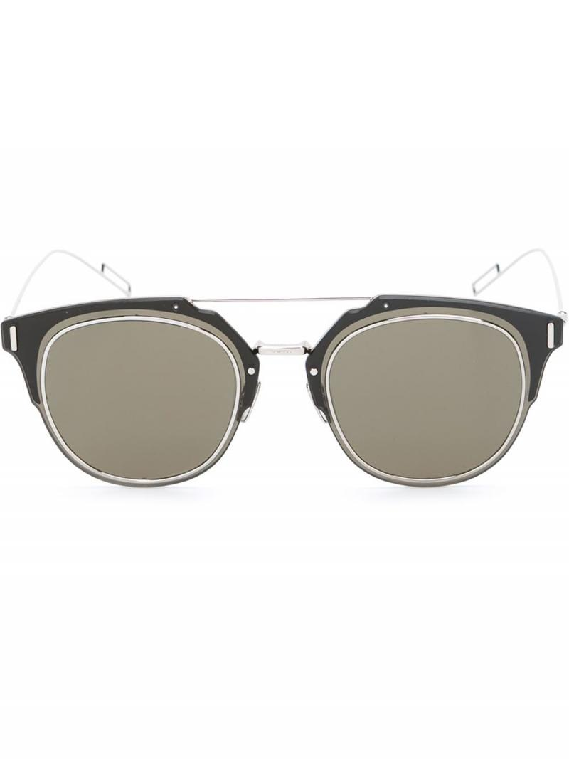 CHRISTIAN DIOR  Composit 1.0 round sunglasses