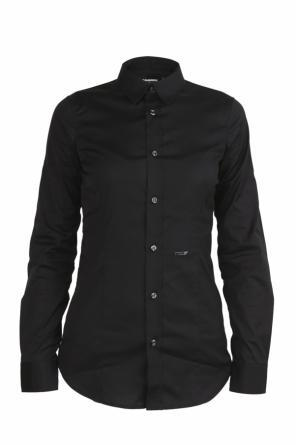 DSQUARED2 SHIRTS Camicia nero
