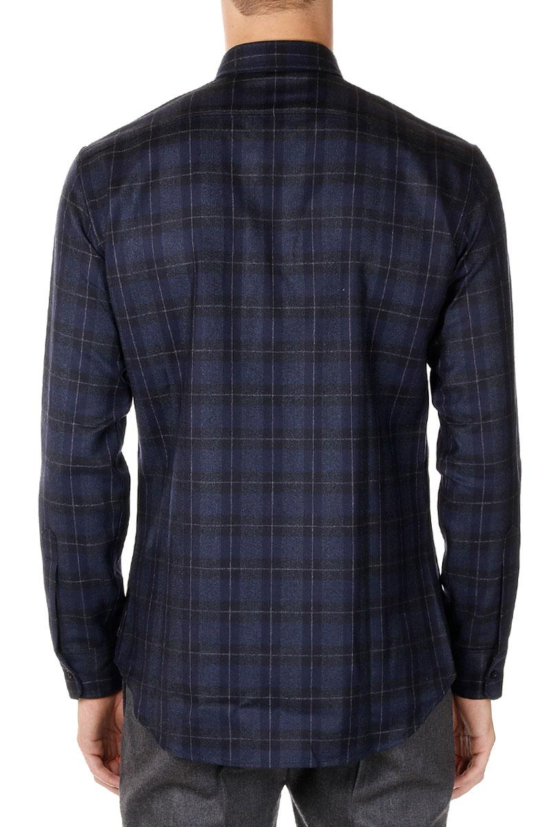 DSQUARED2  Virgir Wool Checked Shirt