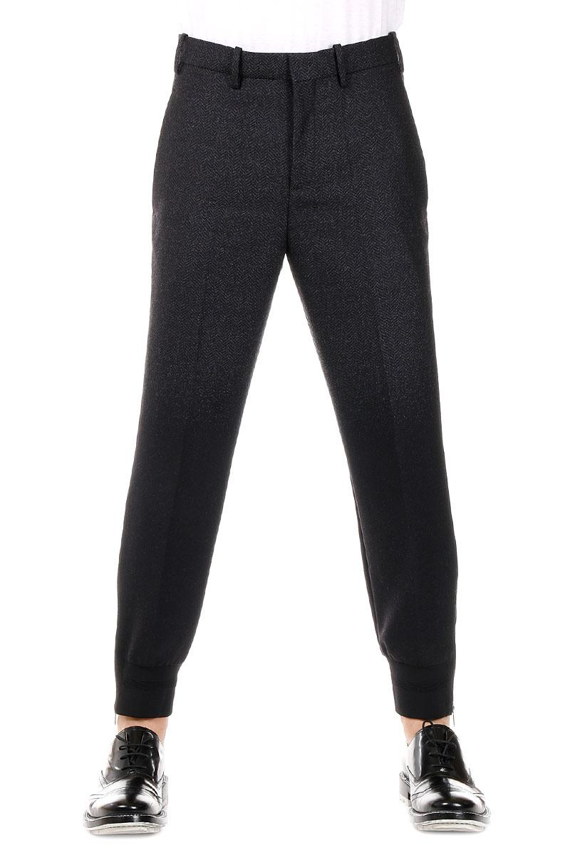 NEIL BARETT   Pinstripe Virgin Wool Pants
