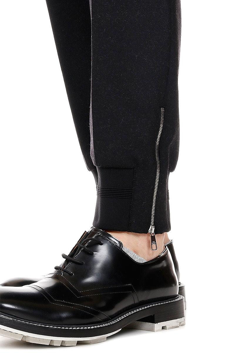NEIL BARETT   Pinstripe Virgin Wool Pants