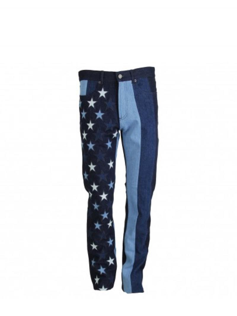 GIVENCHY stars and stripes regular fit jeans