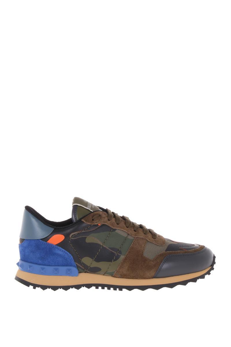 VALENTINO GARAVANI camouflage Rockrunner sneakers
