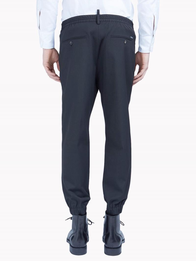 DSQUARED2 Vintage jogging pants in stretch gabardine