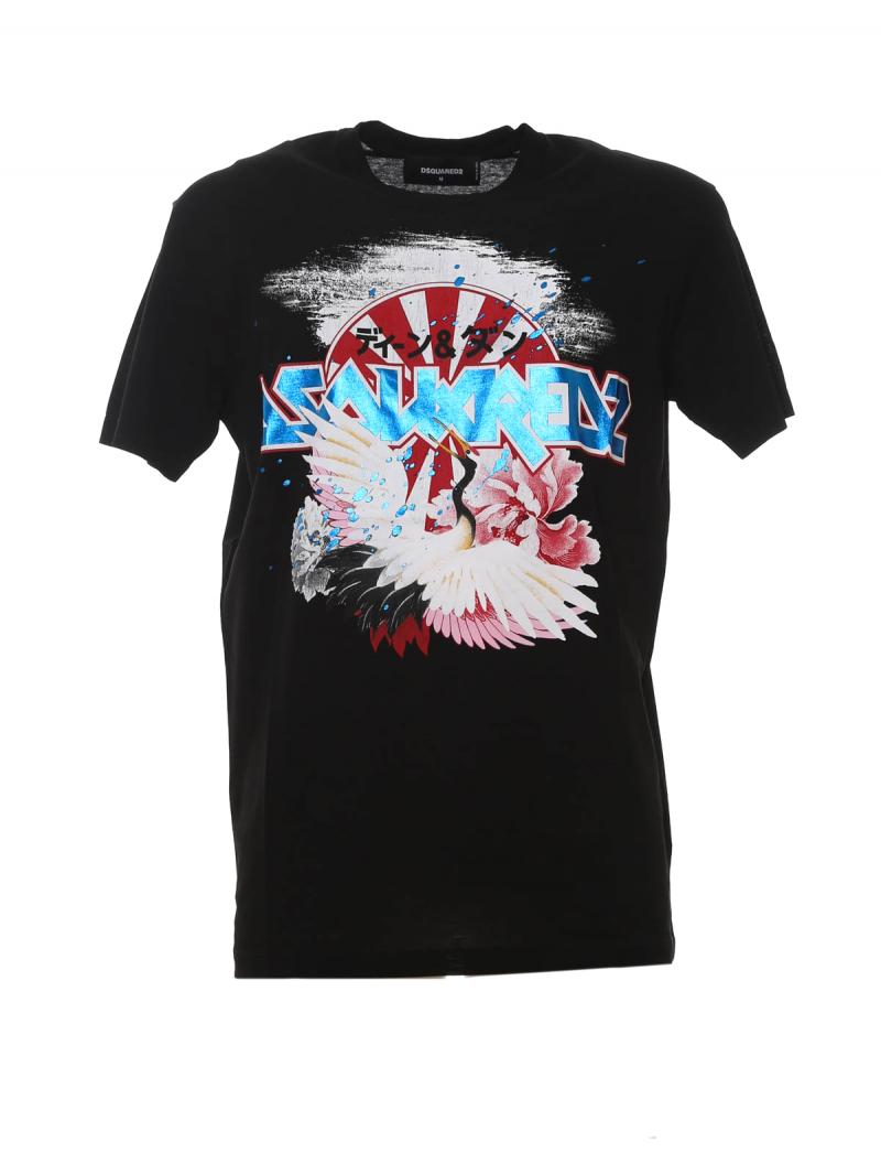 DSQUARED2 LOGO JAPAN T-SHIRT