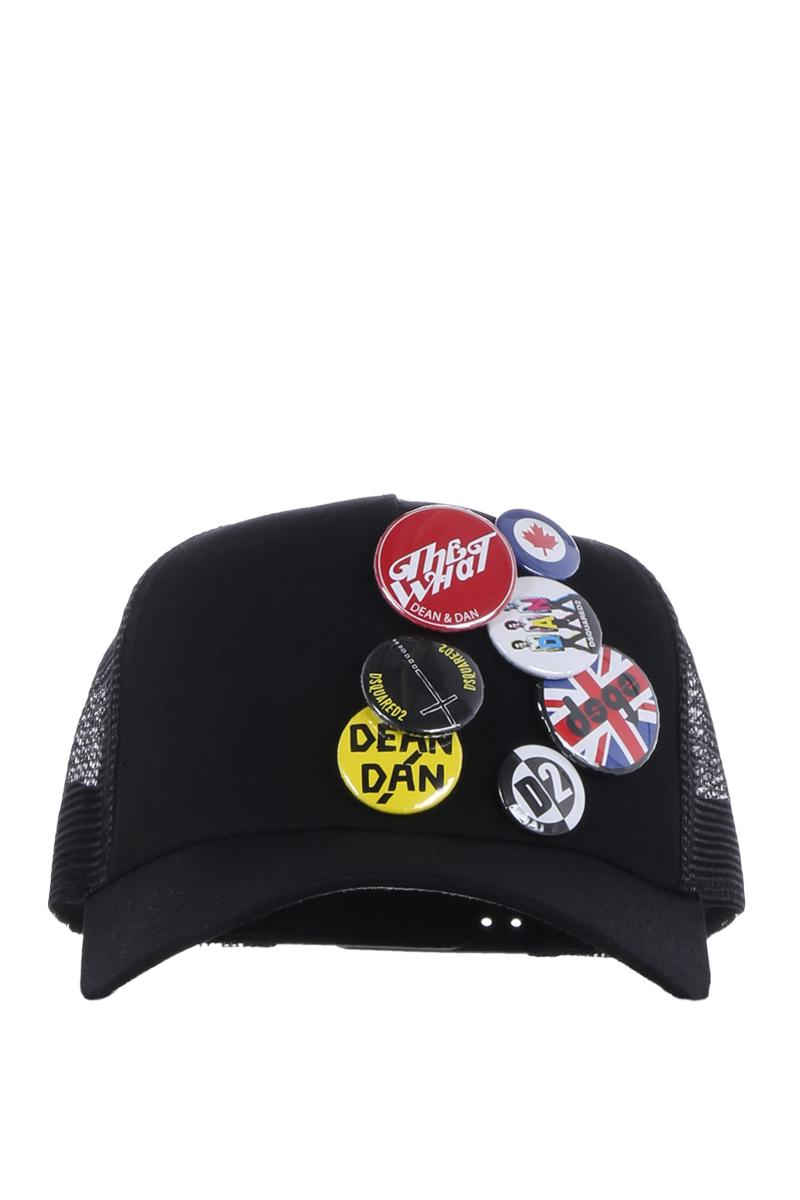 DSQUARED pins baseball cap