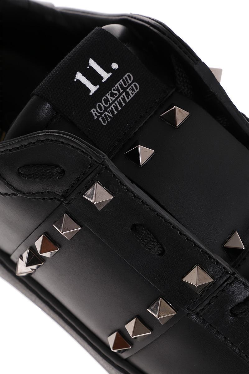 VALENTINO GARAVANI Rockstud Untitled Open sneakers