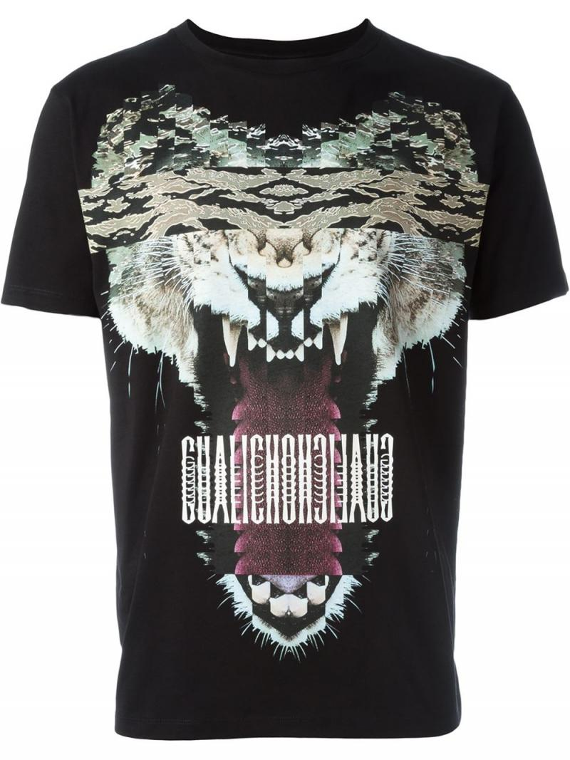 MARCELO BURLON COUNTY OF MILAN T-SHIRT GUISA BLACK