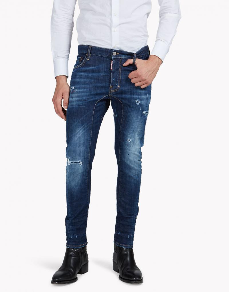 DSQUARED2 DENIM TIDY BIKER JEAN