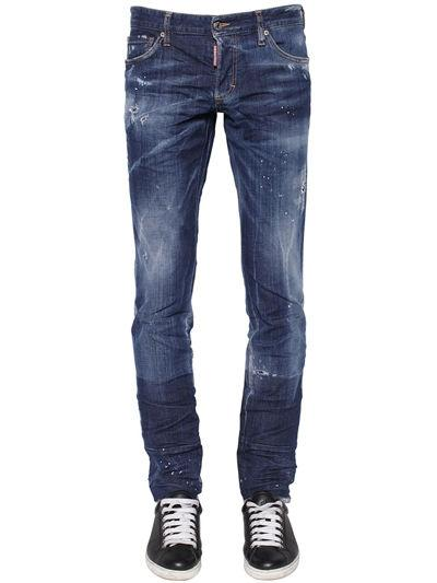 DSQUARED2 DENIM SLIM JEAN JEANS