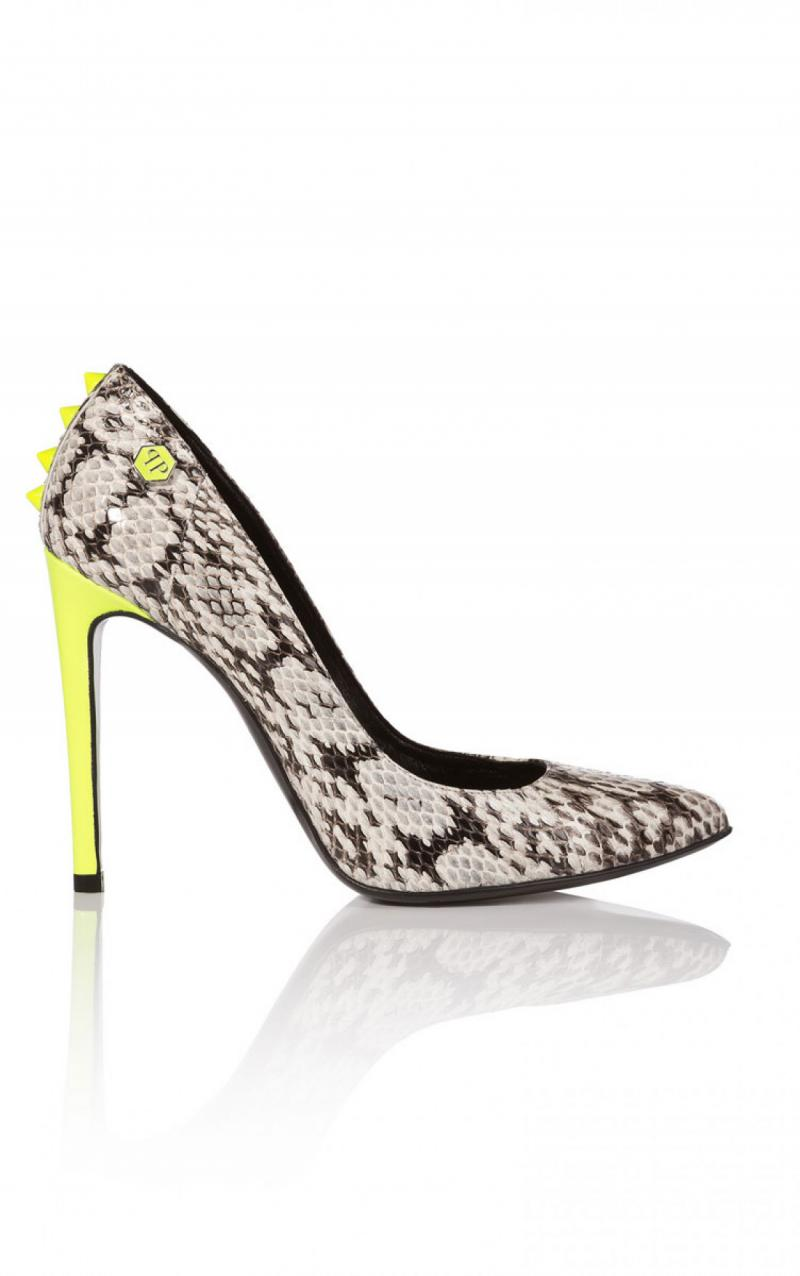 PHILIPP PLEIN REPTILIA PUMPS