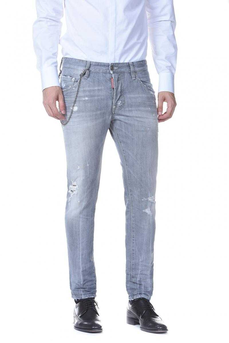 DSQUARED2 DENIM 16CM SKATER JEAN