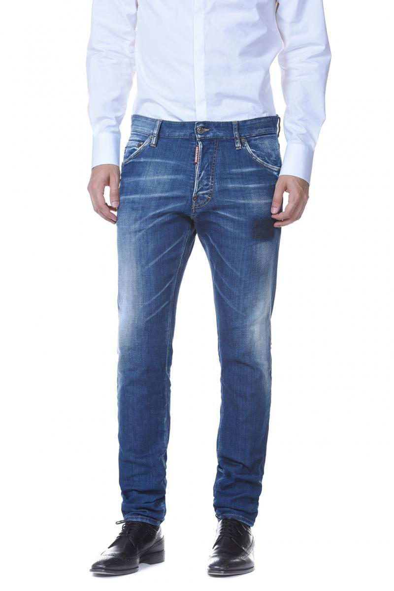 DSQUARED2 DENIM COOL GUY JEAN COTTON JEANS