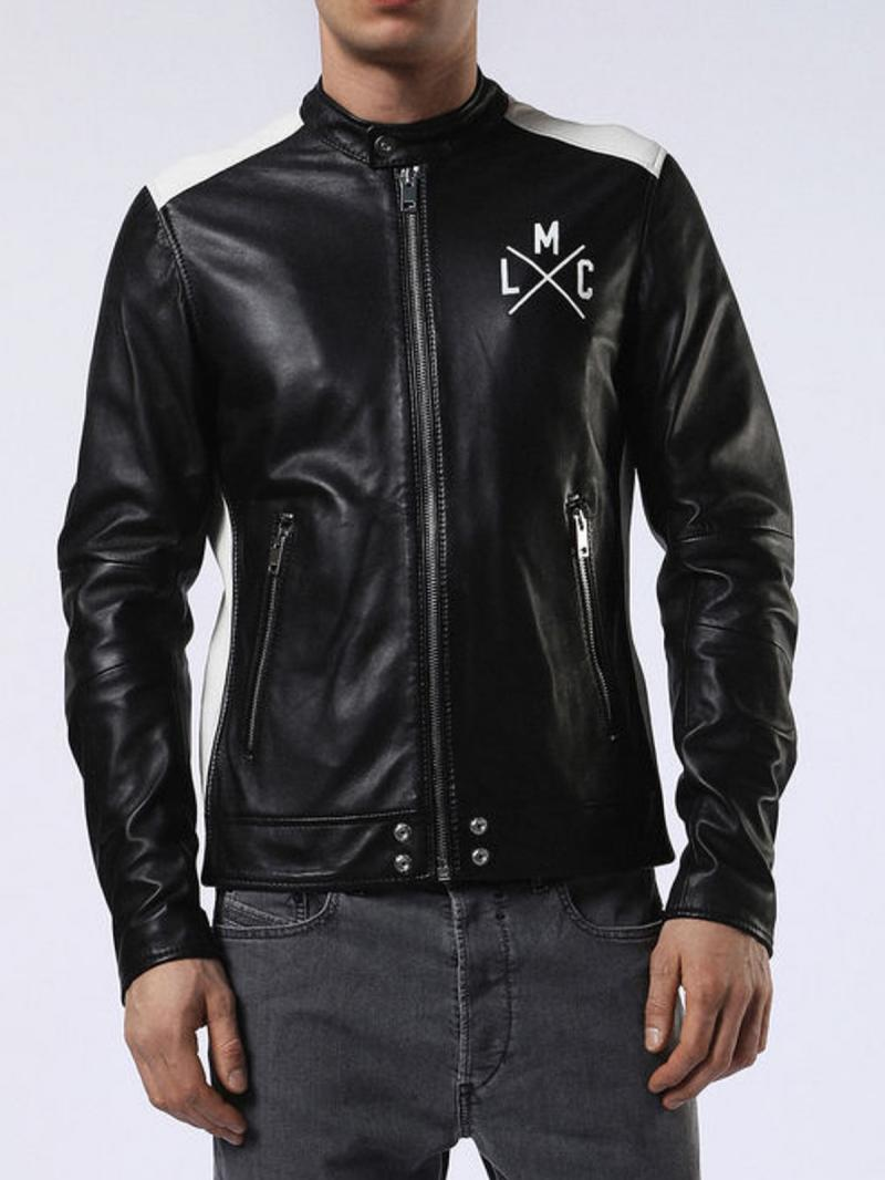 DIESEL L-FYFE LEATHER JACKETS