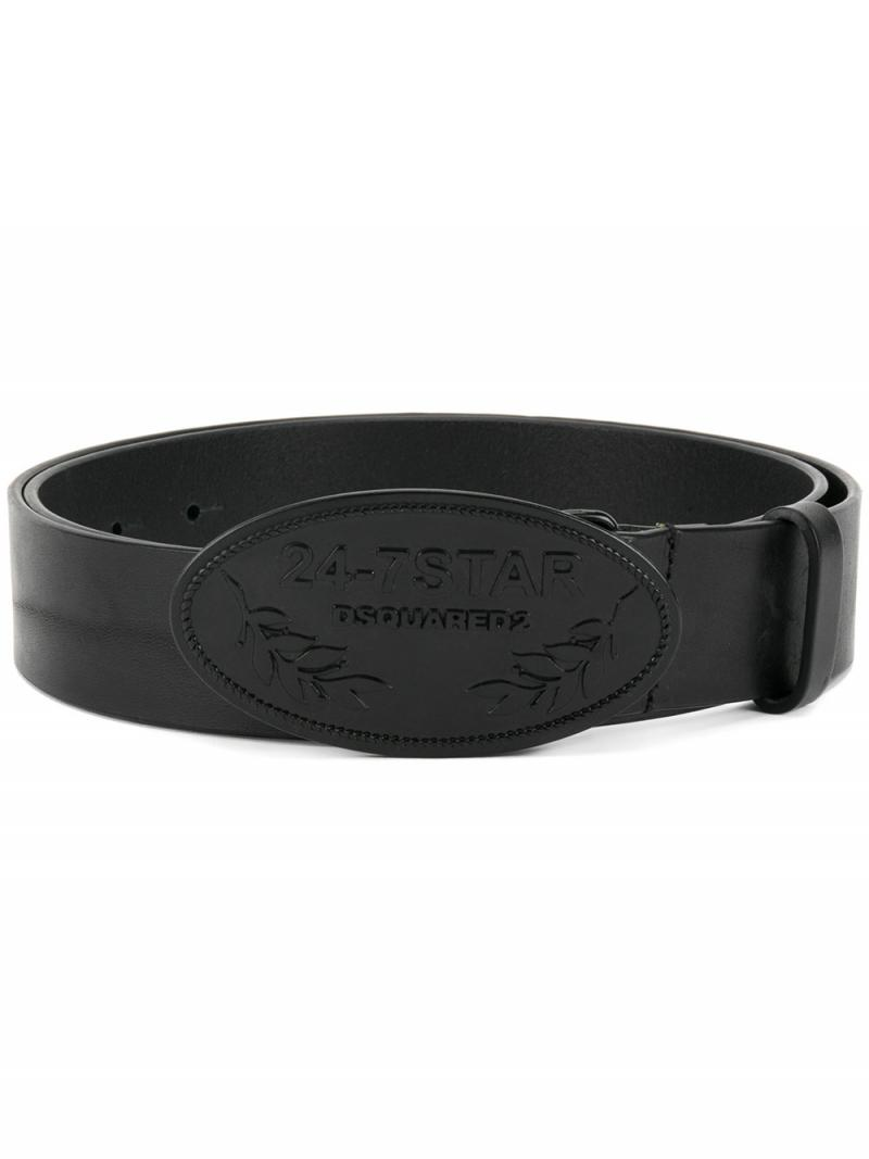 DSQUARED2 24-7 Star buckle belt