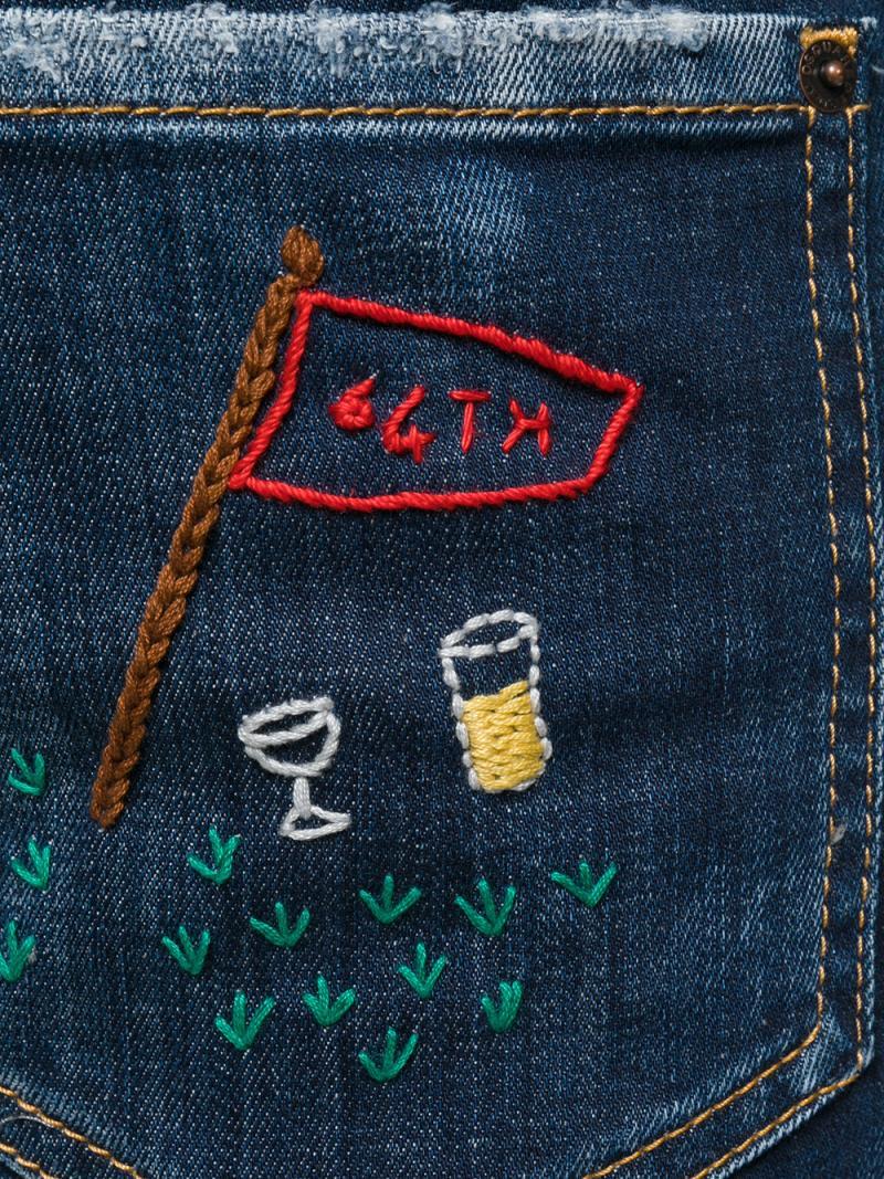 DSQUARED2 city biker jeans