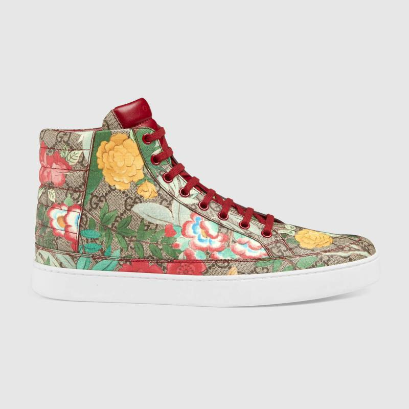 GUCCI  Tian high-top sneaker