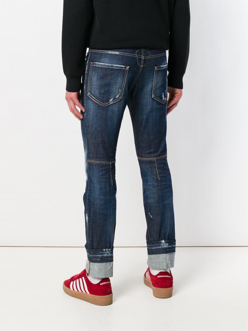 DSQUARED2 City Biker distressed jeans