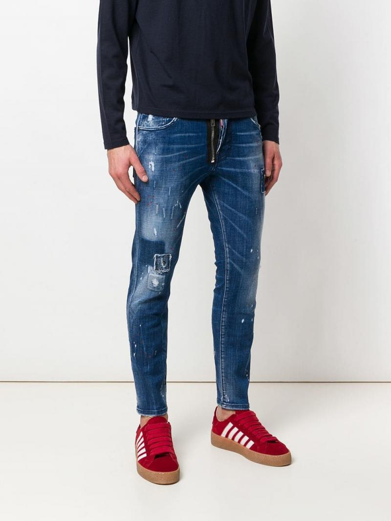 DSQUARED2 Skater distressed jeans
