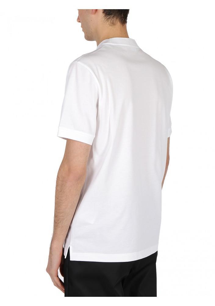 PRADA chest logo patch T-shirt