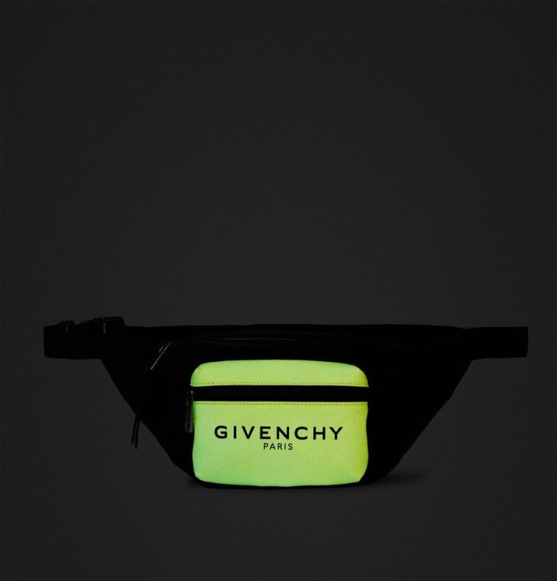 "GIVENCHY  PARIS belt bag "" Glow in the dark """