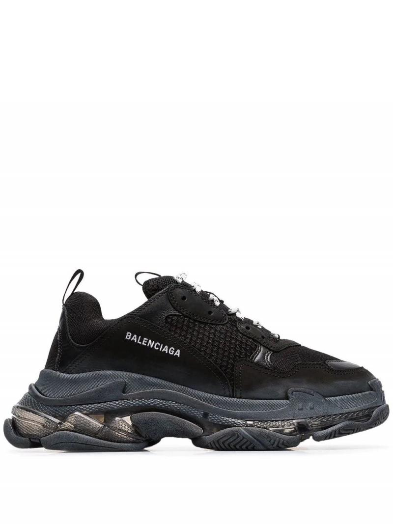 BALENCIAGA Triple S clear sole Permanent Collection