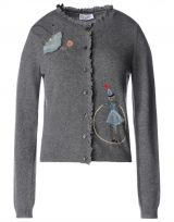 RED VALENTINO Circus embroidered cardigan