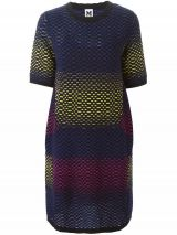 M MISSONI patterned knitted dress