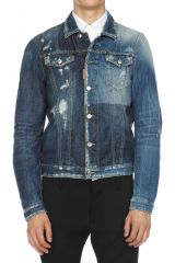 DSQUARED2 JACKETS caban blue