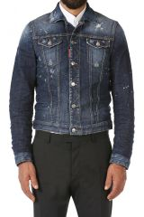 DSQUARED2 DENIM JACKET  Caban