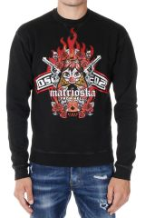 DSQUARED2  MATRIOSKA Printed Sweatshirt