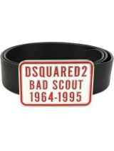 DSQUARED2 Bad Scout buckle belt