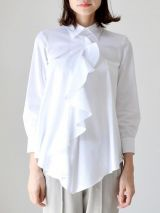 DSQUARED2 ruffle front shirt